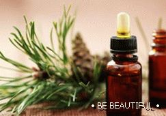 pine essential oil is used for hair growth