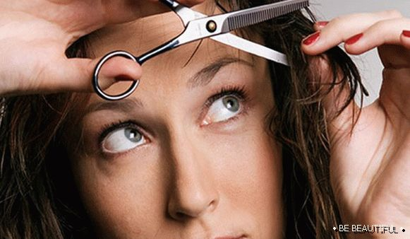 Thinning your own hair