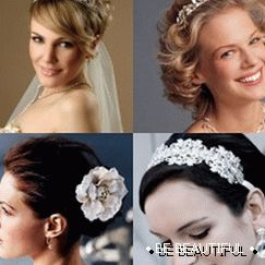 wedding styling for short hair