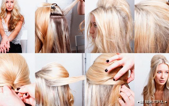 How to make a bouffant