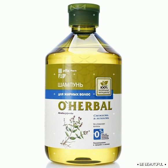O'Herbal with mint extract