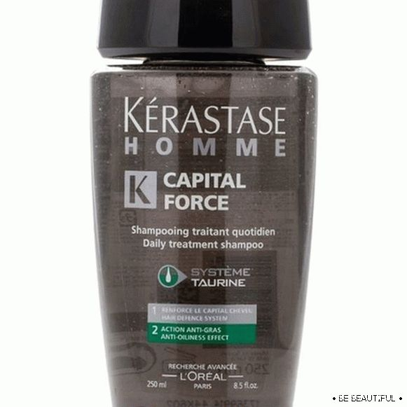 Kerastase Homme Capital Force anti-oiliness effect