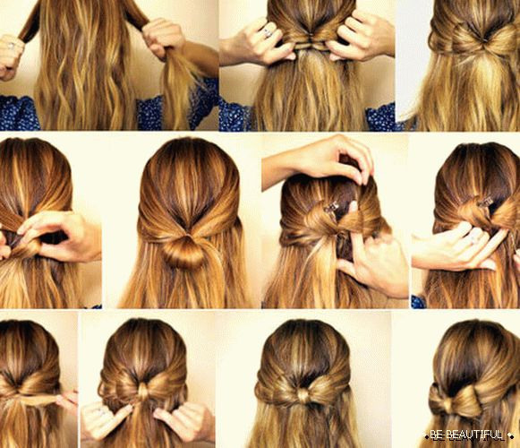 bow of mk hair