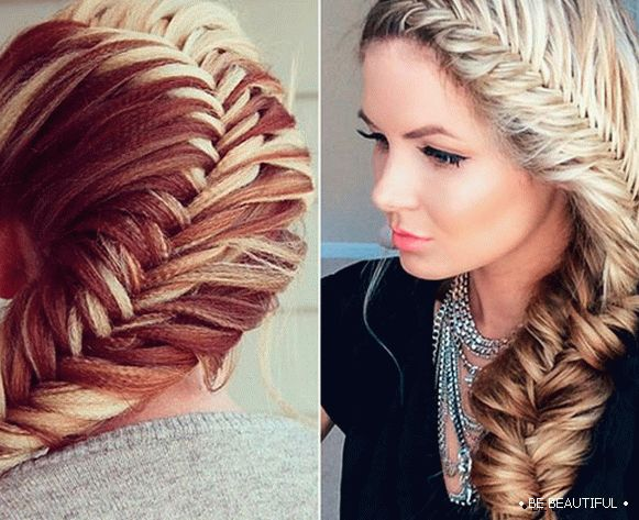 photo hairstyle fishtail