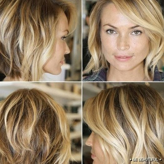 coloring blond hair