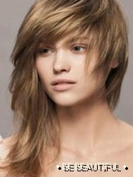 asymmetrical hairstyles for medium hair photo 4