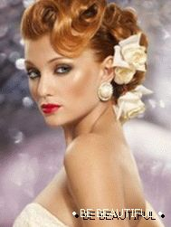 retro hairstyles for medium hair photo 1