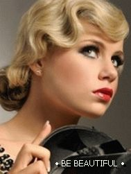 retro hairstyles for medium hair photo 2