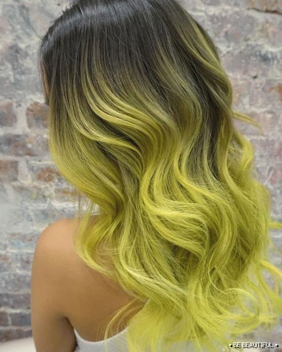 Highlight ombre