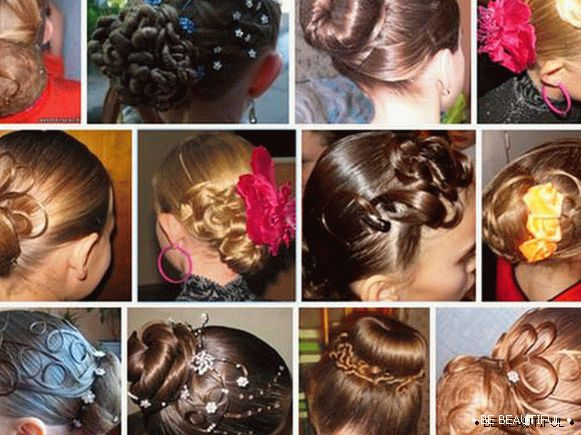 Ball hairstyles for girls