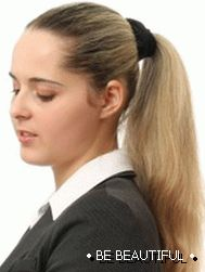 office hairstyles for long hair photo 3