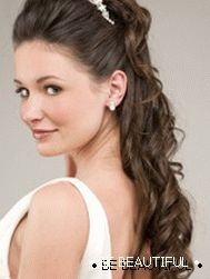 Festive hairstyles for long hair photo 1