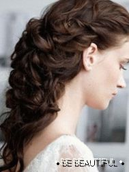 Wedding hairstyle for long hair photo 3