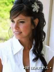 hairstyles for prom for long hair photo 1