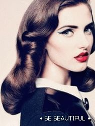 retro hairstyles for long hair photo 4