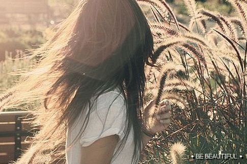 hair and nature